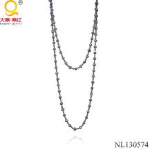 Пресноводных жемчужное ожерелье ожерелье из бисера