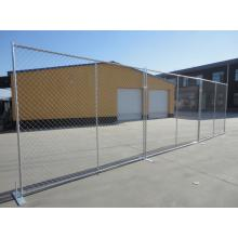 Chain Link Fence with Foot