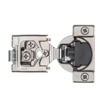 3D 105* With Soft-Close 6-Way Adjustable 1-1/4' Overlay Press-in Cabinet Hinge