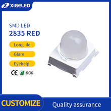 SMD LED lamp beads concentrating ball head