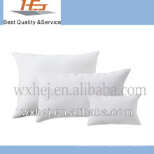 100% Baumwolle Großhandel weiße Leinen Kissenbezüge