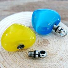 Pendentif coloré à l'urine de verre à l'environnement