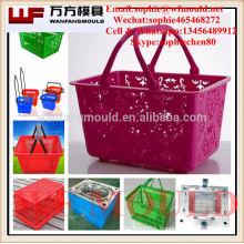 2017 new innovative household products Commodity household shopping basket injection moulds