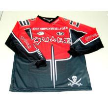 Jersey de la motocicleta del logotipo de 2015