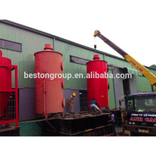 Non-pollution pyrolysis plant for Urban solid waste machine factory