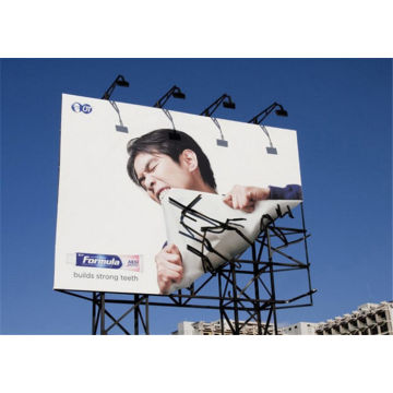 Resolusi Tinggi Custom Advertising Billboard Banner Printing