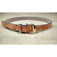 Cinturón elegante PU PU flaco para los vestidos de las mujeres