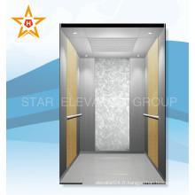 Machine d'ascenseur pour passagers sans chambre pour Rummery