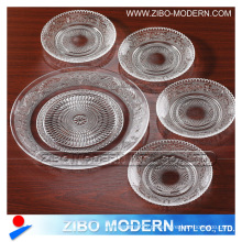 Atacado Moda Clear Placas de vidro 5PC