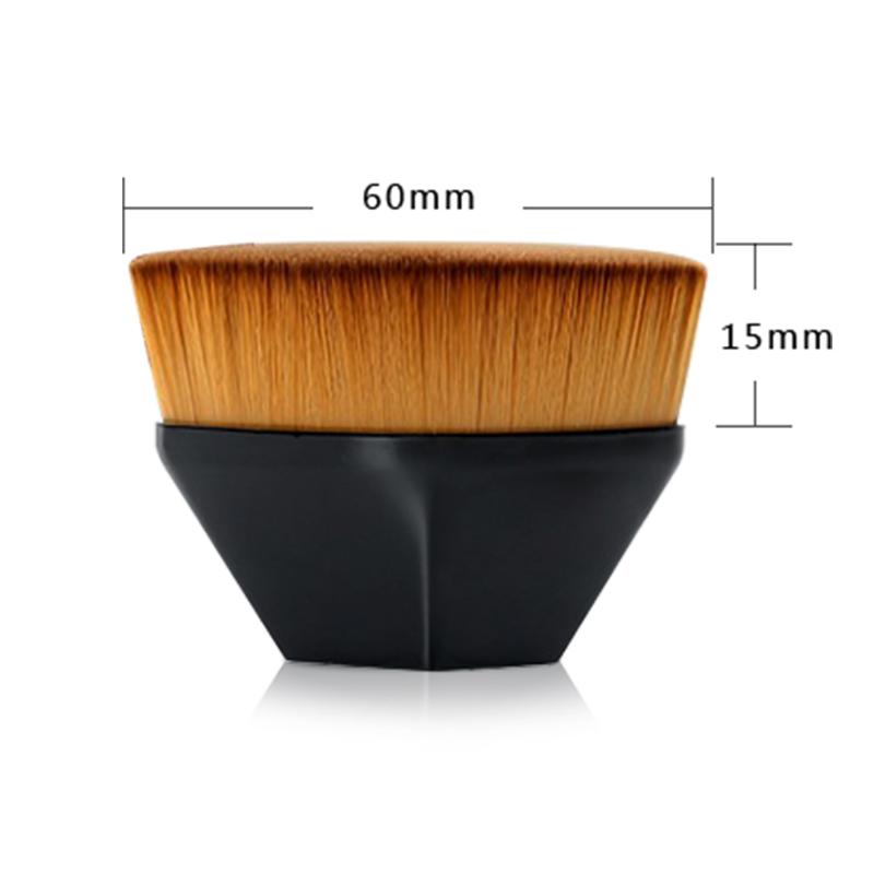 makeup brush liquid foundation
