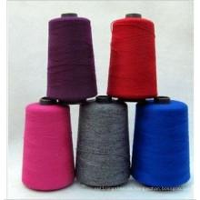 Venda al por mayor el hilo de coser fluorescente 100% del poliéster