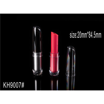 Round Transparent Black Makeup Lipstick Container]