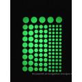 Adesivos de parede para quartos de crianças fluorescente brilho no escuro estrelas adesivo de parede DIY poster home decor