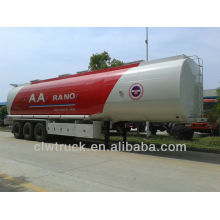 tri-axle 45tons oil tank semi trailer,fuel tank semi trailer for sale