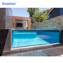 High Quality 100 %  virgin acrylic panel for outdoor swimming pool