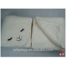 manta de bebé de algodón orgánico