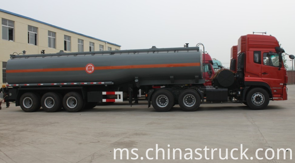 40Ton Chemical tank for NaOH liquid