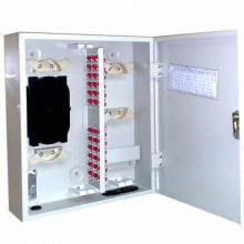 12 ~ 96 Cores de fibra óptica al aire libre Caja Terminal / Caja de distribución de fibra óptica