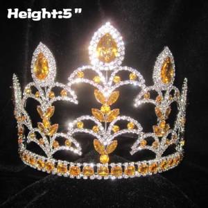 Crystal Fleur De Lis Pageant Queen Crown