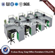 Modern Office Partition 8 Seats Workstation Hx-PT5087