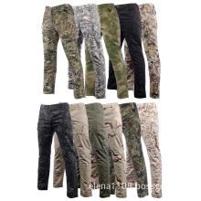 Men's Summer Travel Camping Travel Long Pants Ripstop Waterproof Pants Military Combat Tactical Long Trousers