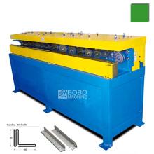 HVAC Están de pie S & D deslizamiento deslizante y unidad formadora de bloqueo y máquina rollformer
