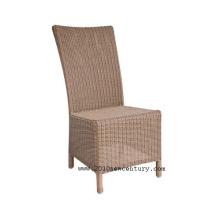 Chaise en osier, chaise de rotin, chaise extérieure, dinant la chaise, jardin chaise (8012)