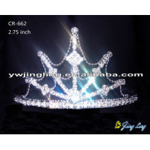 Small Pageant Crown Tiara CR-662