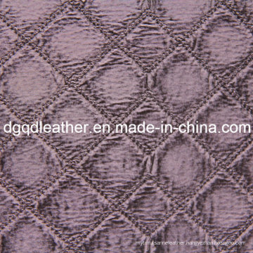 Fashion Quilting Decoration Furniture Leather (QDL-51374)