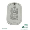 Kundenspezifische Metalldruckpaar-Erkennungsmarken für die Förderung