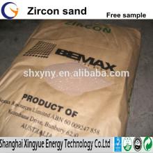 66% de fornecedores australianos de areia de zircon