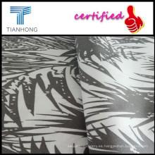 Tela del popelín de impresión reactiva barato para las telas de tapicería y tapicería impresa con palabras