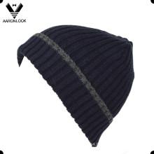 Bonnet à manchette en coton en laine de haute qualité avec manchette