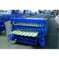 Máquina de fabricación de tejas de techo de doble capa de control PLC
