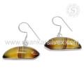 Летняя красота полосатый Оникс серьги 925 серебро драгоценных камней серьги ювелирные изделия оптовик джайпур