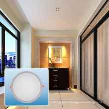 LED Recessed Light/85-265V Double Color Round COB Light