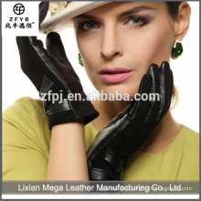 Nuevo diseño de moda de bajo precio de Japón importadores de cuero guantes de trabajo