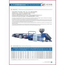 Plastic Tape Drawing Machine PP Extruder (SL -FS)