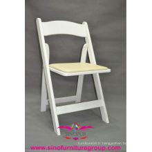 Chaise pliante en gros à base de Sinofur