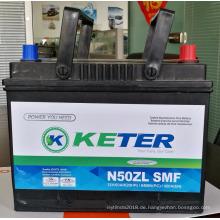 Versiegelte wartungsfreie 38B20 R / L SMF Autobatterien