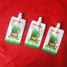 Reusable Plastic Spout Pouch for Liquid Packaging