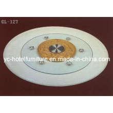 Platine à table en verre (CH-ZP03)
