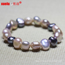 Natural Baroque Freshwater Pearl Bracelet Fashion Jewellery (E150048)