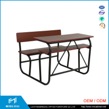 Luoyang Mingxiu Supplier Low Price Used School Desks/ School Desk with Bench
