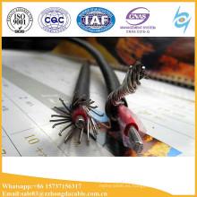 Cable de alambre del PVC del AL servicio concentrado LV 600v