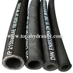 Komatsu oil resistant R2 hydraulic hose