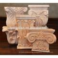 Indoor decor wood capitals and carved wood capitals