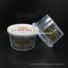 FDA сертифицированный одноразовый пластиковый контейнер для соуса для литья под давлением, 7 унций / 210 мл