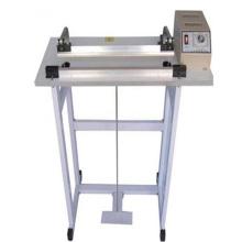 Machine de cachetage d'impulsion de pied / machine de scellage de chauffage double face de pédale, machine de cachetage de pédale