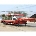 Trailer Semi Low Plate Dua Gandar Rendah